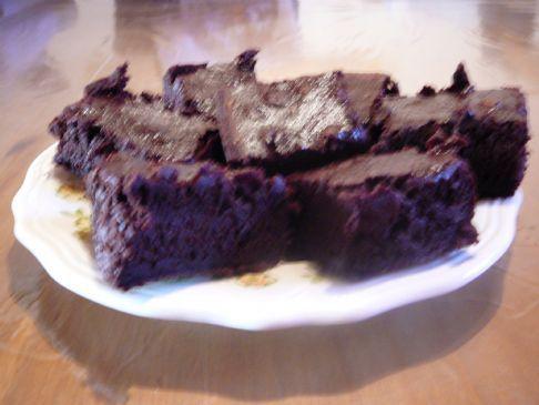 Bo's fudgy brownies
