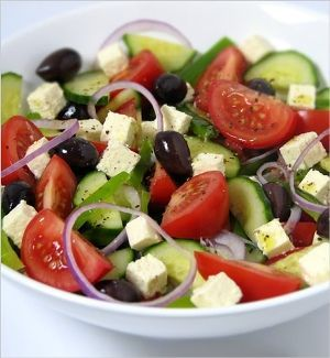 Horiatiki Salata (Greek Salad)