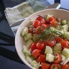 Cucumber Tomatoe Salad