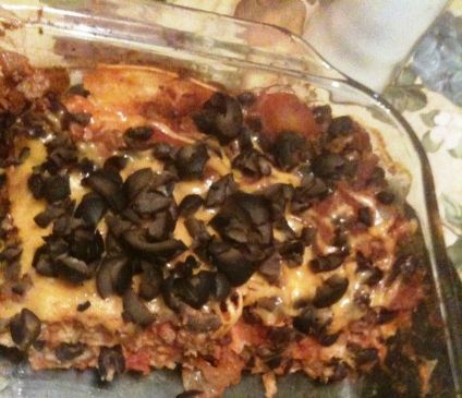 Low-Fat Mexican Lasagna
