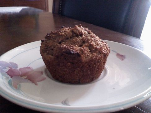 Double Apple Multigrain Muffins