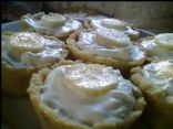 Mini Banana Cream Pudding Pies