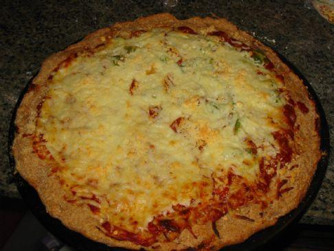 Angel's Whole Wheat Pizza Crust