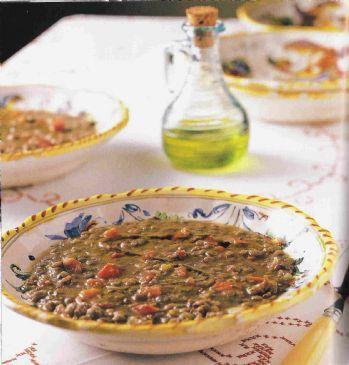 Buca Di Beppo's Lentil Soup