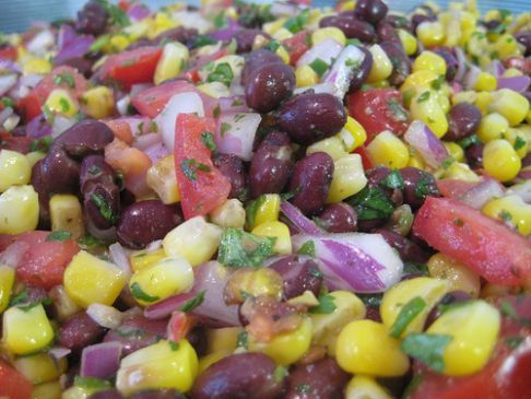 My Daily Bean salad for summer