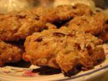 Coconut Cranberry Mango Oatmeal Cookies