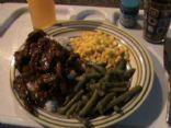 Beef Schnitzel fry-up