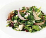 Spinach Veggie Bacon Salad