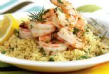 Victoria Corum's Savory Shrimp with Couscous (Oxygen, July 2008)