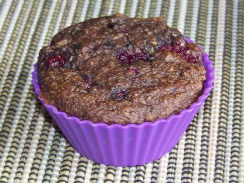 Kev's Choc Raspberry Bran Muffins