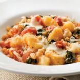 Skillet Gnocchi with Swiss Chard and White Beans