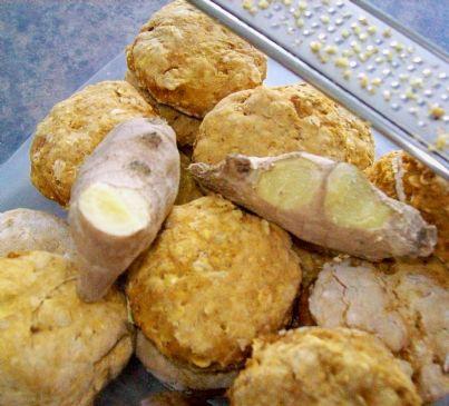 Skyscraper Pumpkin Biscuits