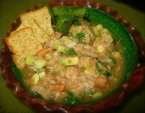 Mariela's Tuna ceviche/salad
