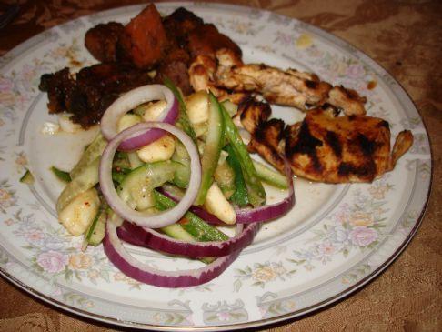 Banana and Cucumber Salad