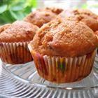 Whole wheat applesauce, pumpkin muffins
