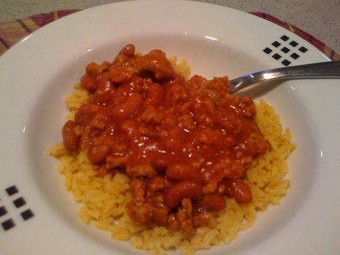 Turkey Chili Con Carne