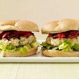 Feta-Stuffed Chicken Burgers