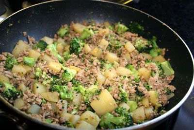 Ground Turkey Skillet Recipe
