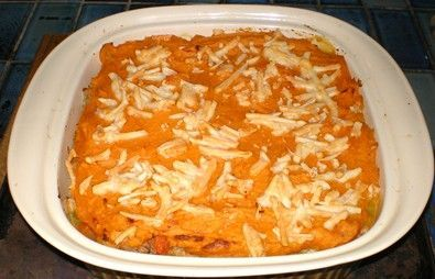 Tuna Sweet Potato Cottage Pie