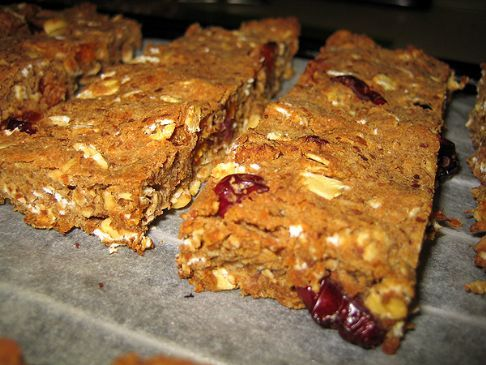Cranberry Apricot Protein Bars