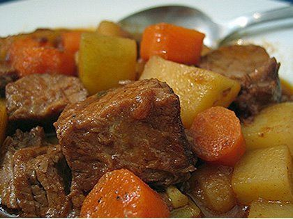 Chunky Beef Stew - Eating for LIfe (adapted)