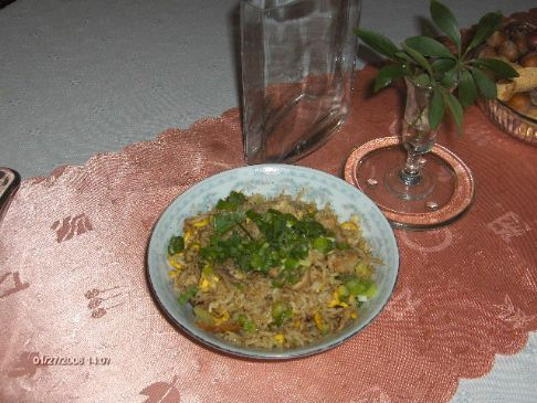 Chicken Veggie Fried Rice