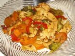 Diabetic Sesame Ginger Chicken Stir-fry