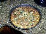 Collard Green Quiche