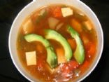 Spicy asian fusion soup