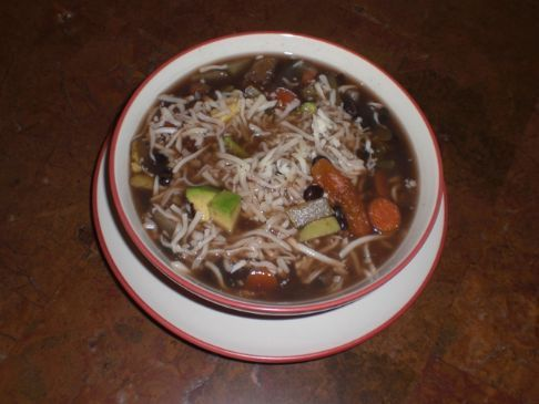 Black Bean Soup Recipe | SparkRecipes