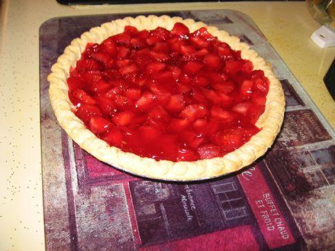 Quick Strawberry Pie