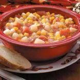 Piquant Corn & Tomato Chowder