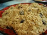 Oatmeal Raisin Almond Cookies