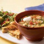 White Bean-Poblano Soup