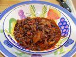 Chipolte Pepper Black Bean Chili
