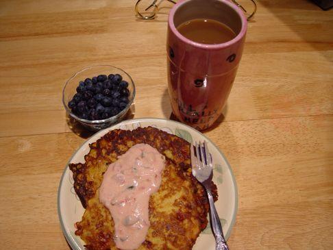 Hashbrown Pancake