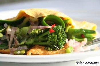 Asian Omelette