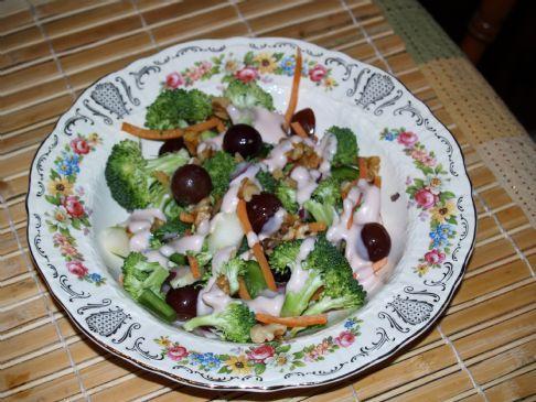 Broccoli Salad with Dressing