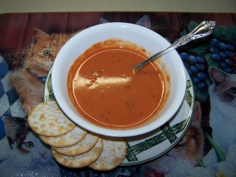 Paula's Sparked-Up Tomato Soup