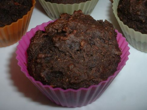 Red Devil Chocolate Muffins