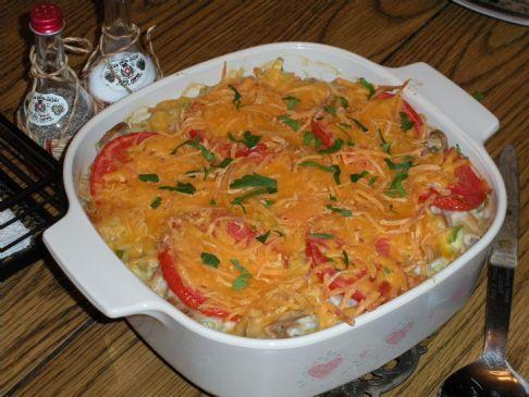 Tuna Noodle Casserole with Veggies