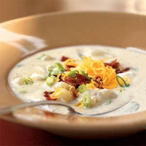 Healthified Potato Soup