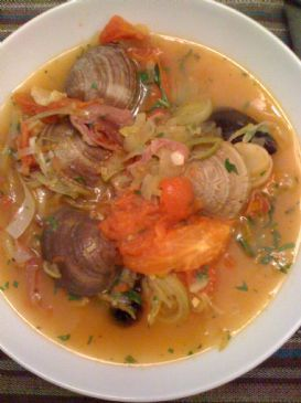 Clam and Mussel Stew with Capocollo and Vesuvius Tomatoes