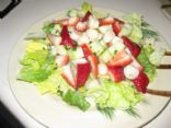 Scallop and Strawberry Salad
