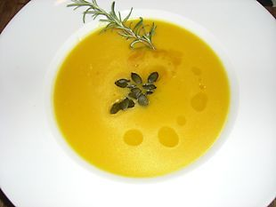 Kürbiscreamsuppe