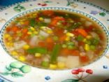 Summer's Bounty Vegetable Beef Soup