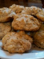 Whole Grain Buttermilk Drop Biscuits