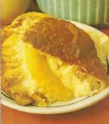Pineapple Sponge Custard