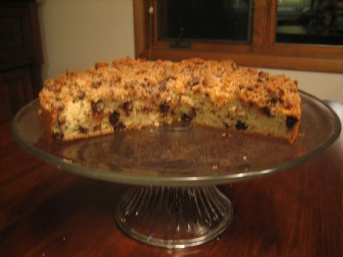 Quick Chocolate Chip Coffee Cake