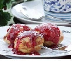 Danish Puff Pancakes (aebleskivers) Low fat